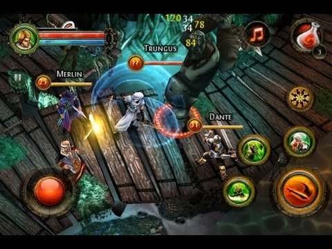 game Dungeon Hunter 4 android