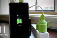 Cara Mengisi Baterai Smartphone Android dengan Baik dan Benar