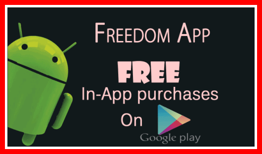 cara cheat game android freedom