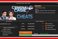cheat criminal case