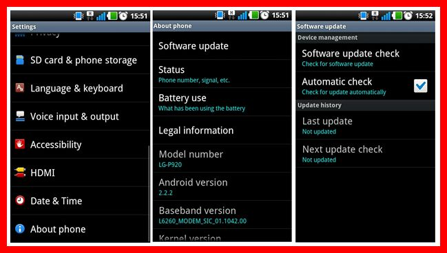 Cara Upgrade OS Android Samsung