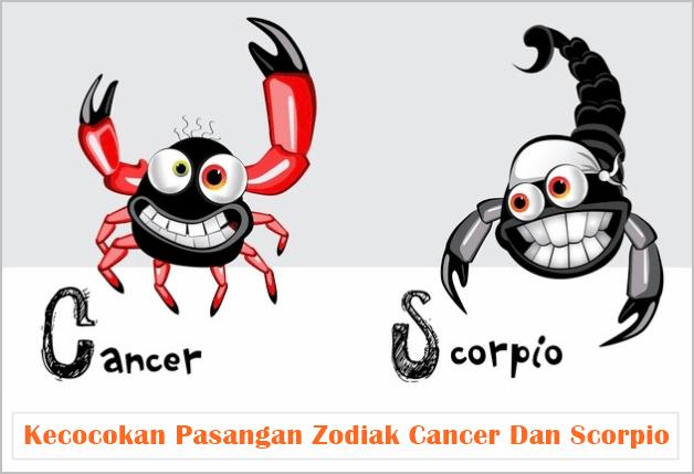 Kecocokan Pasangan Zodiak Cancer Dan Scorpio