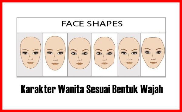 Karakter Wanita Sesuai Bentuk Wajahnya