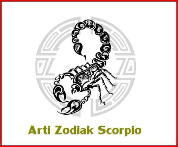Arti Zodiak Scorpio