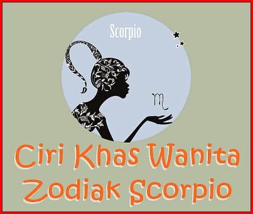 Ciri Khas Wanita Zodiak Scorpio
