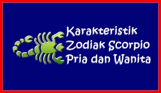 Karakteristik Zodiak Scorpio Pria dan Wanita