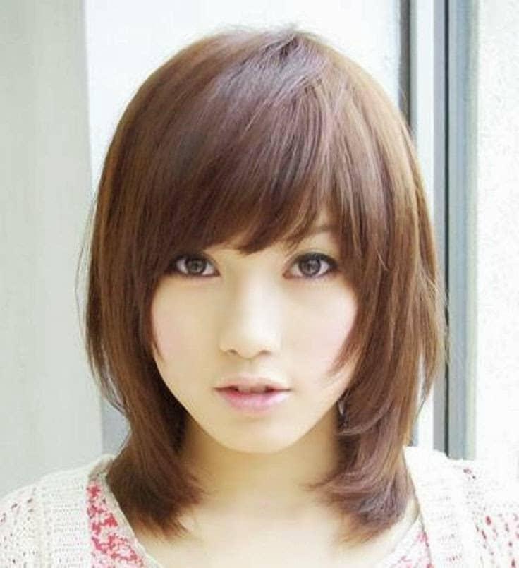 Tips Memilih Model Rambut Pendek Untuk Wajah Bulat | Blog ...