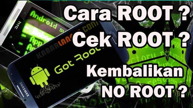 cara cek Rooting Ponsel Android berhasil