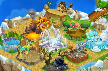 Panduan Habitat di Dragon City Melayang