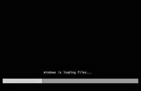 Proses windows is loading files