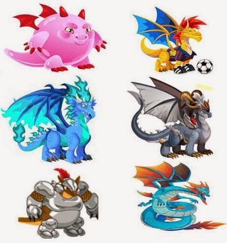 Hybrid Rare Dragon City