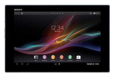 Harga dan Spesifikasi Sony Xperia Tablet Z LTE
