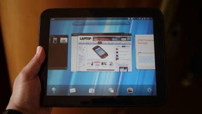 Harga dan spesifikasi HP TouchPad 4G
