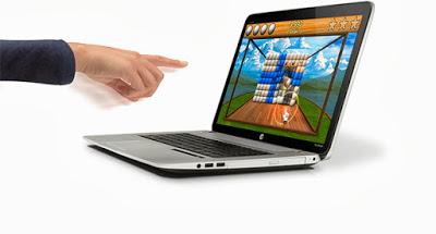 HP Envy 17 yang pertama dengan fitur Leap Motion