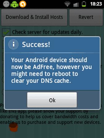 menghilangkan Iklan Android