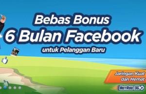 Promo Kartu Perdana XL, 6Bulan Gratis Facebook