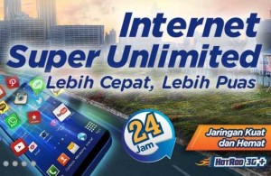 Paket Internet termurah XL Super Unlimited