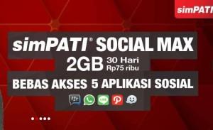 SimPaTI Social Max, Free Chating (BBM, Whatsapp, Line, Path & Waze)
