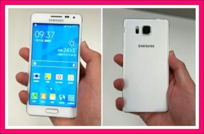 Kamera Samsung Galaxy Alpha
