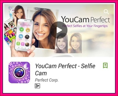 aplikasi android selfie Youcam Perfect