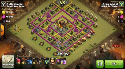 clash of clans Th 3 upgrade