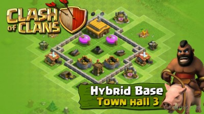 clash of clans Th3