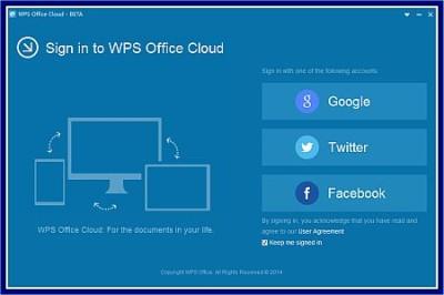 wps office cloud