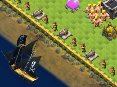 clash of clans war