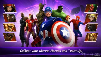 Marvel Future Fight play store
