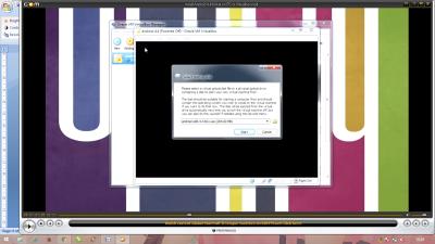start-up disk virtualbox