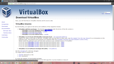 tab download virtualbox
