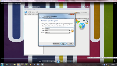 buat virtual mechine virtualbox