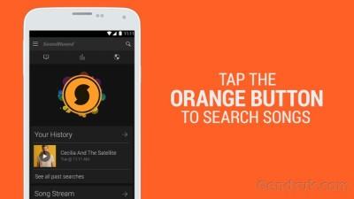 Aplikasi SoundHound android