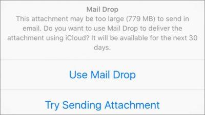 Fitur Baru Update iOS 9.2 - mail Drop