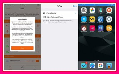 Vidyo, Aplikasi Screen Recording iPhone