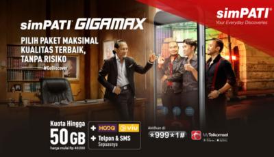 Paket Internet Simpati Gigamax