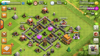 upgrade coc th 5