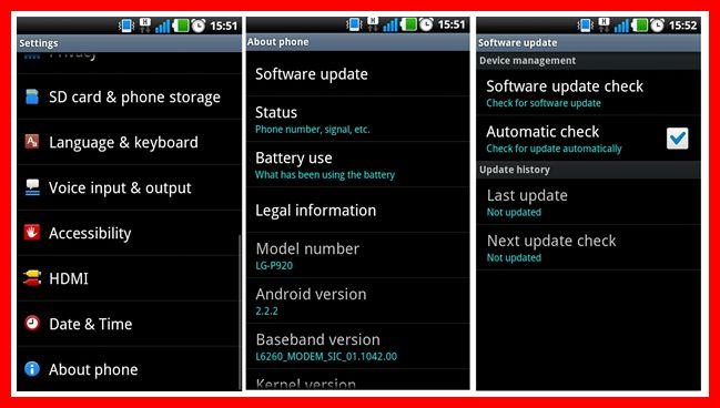 Cara Upgrade OS Android Samsung
