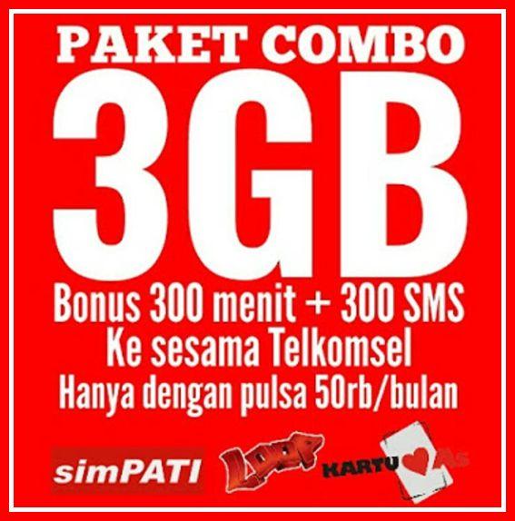 daftar paket internet murah telkomsel