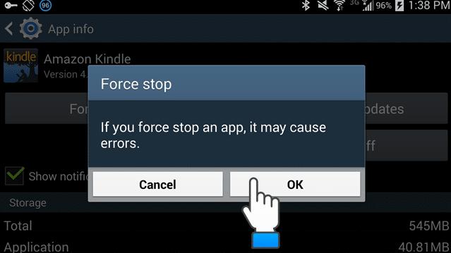Cara Mengatasi Android Force Stop