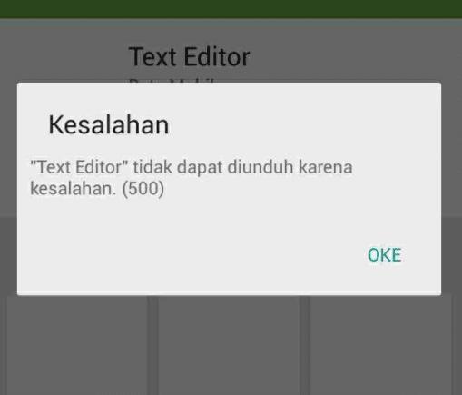 Cara Mengatasi Android Gagal Instal Aplikasi
