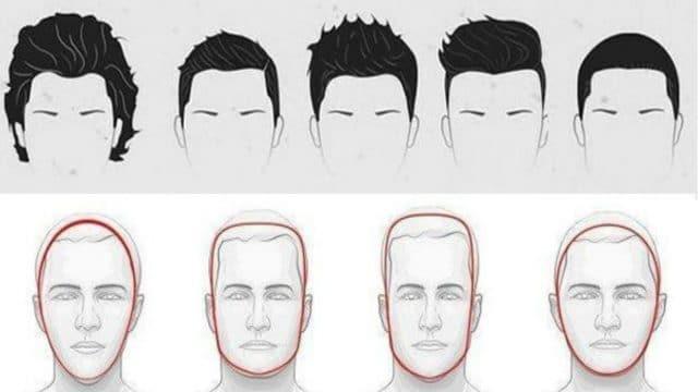 Model Potongan Gaya rambut Pria Sesuai Bentuk Wajah